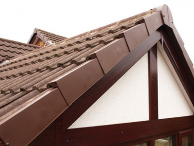 UPVC Roofline available in a range of colours to compliment your home